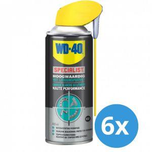 WD-40 Specialist wit lithiumspuitvet 400 ml - 6 stuks